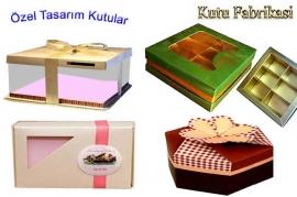 Özel Tasarım Pastane Kutuları