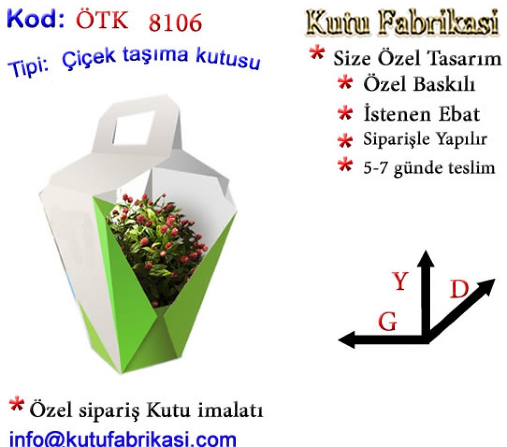 Özel Tasarım Çiçek Kutuları 8106 Matbaa Baskı İmalat Matbaacı