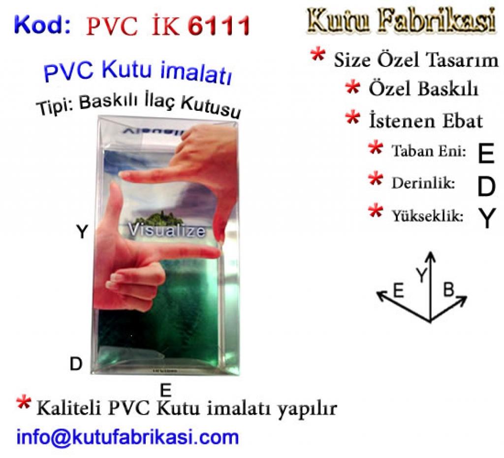 Fotoğraf Baskılı PVC Kutu 6111 Matbaa Baskı İmalat Matbaacı