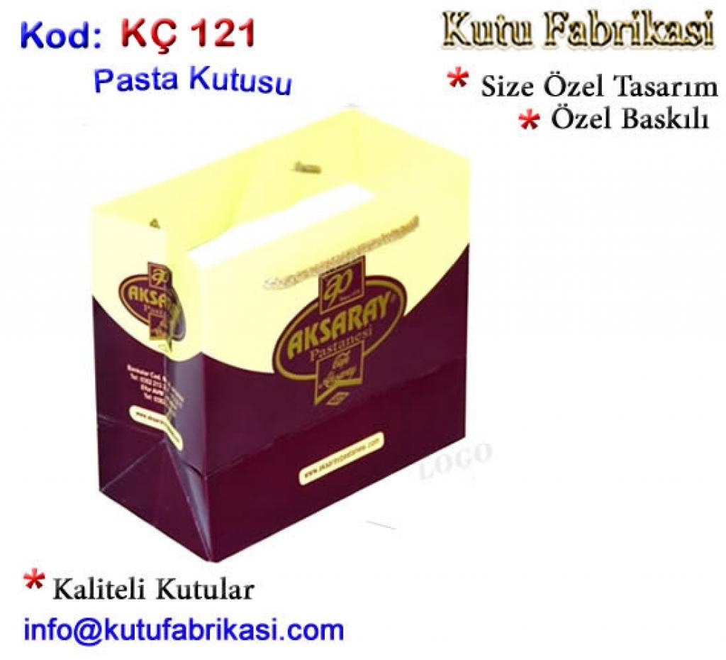 Pastane Karton Çantası 121 Matbaa Baskı İmalat Matbaacı