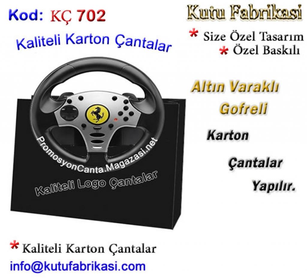 Özel  Tasarım Karton Çanta 702 Matbaa Baskı İmalat Matbaacı