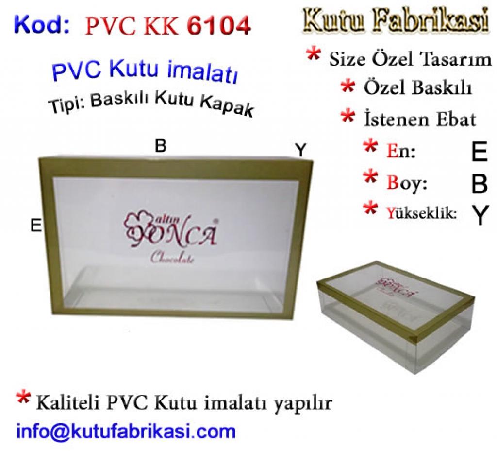 Fotoğraf Baskılı PVC Kutu 6104 Matbaa Baskı İmalat Matbaacı