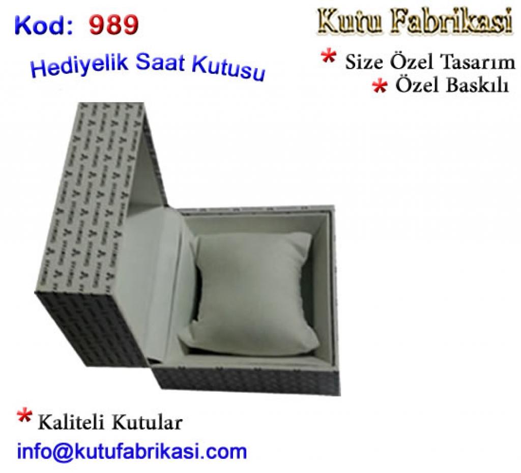 Özel tasarım saat Kutusu FK 989 Matbaa Baskı İmalat Matbaacı