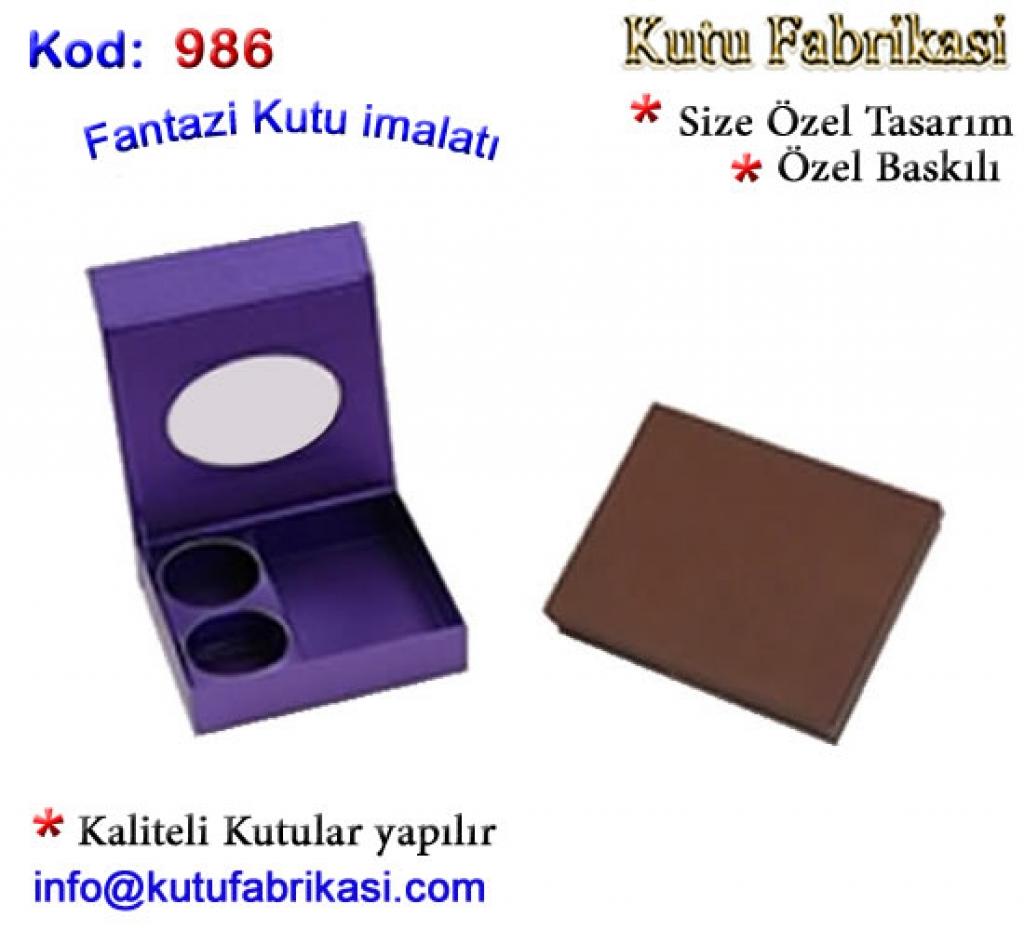 Fantazi Kutu FK 986 Matbaa Baskı İmalat Matbaacı