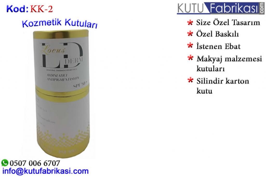 Kozmetik Kutuları KK-2 Matbaa Baskı İmalat Matbaacı