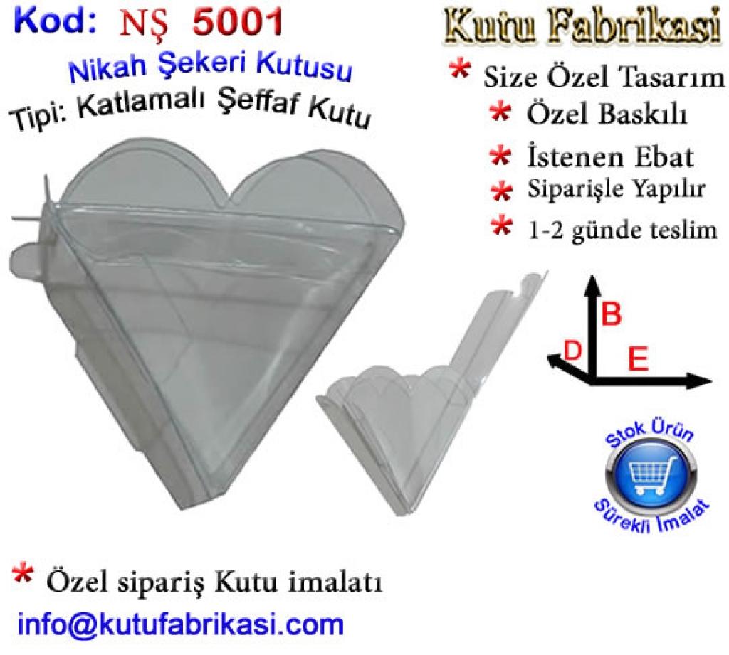 Kalp PVC kutu 5001 Matbaa Baskı İmalat Matbaacı
