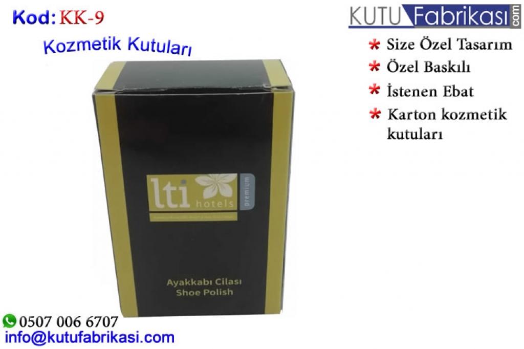 Kozmetik Kutuları KK-9 Matbaa Baskı İmalat Matbaacı