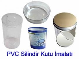 PVC Asetat Silindir kutular